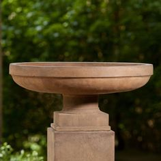 Campania International Cliveden Cast Stone Urn Planter Travertine