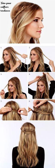 Tuto coiffure tendance