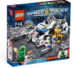 LEGO - Space Police - Gold Heist 5971 - NEW  Sealed