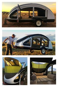 caravan teardrop Weighing in at this is the lightest teardrop trailer that you will be able to find. (Unless you build one yourself that is). Camping Ideas, Todo Camping, Truck Camping, Camping Glamping, Camping Life, Camping Hacks, Outdoor Camping, Camping Outdoors, Camping Cabins