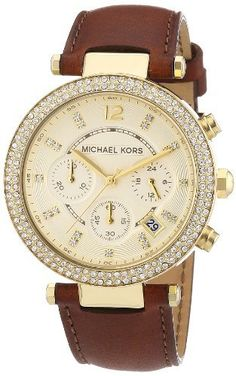 Michael Kors Women's MK2249 Parker Brown Watch, http://www.amazon.com/dp/B0076SYGZE/ref=cm_sw_r_pi_awdm_WE3.vb06J7J8W