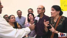 Volunteer from Gayatri Parivar of Dallas,Texas speaking to Desiplaza TV