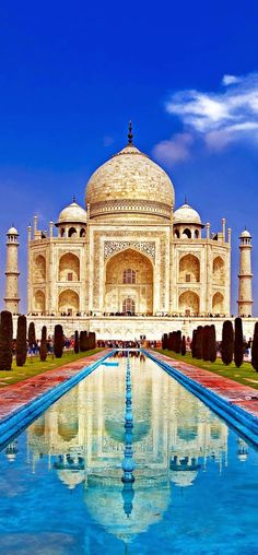 Beautiful View.. Taj Mahal, India | Nature Board