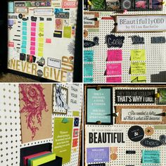 """Interactive Vision Board"" In choosing to pursue your art, you choose to BEautifullyODD"