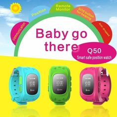 Mini GPS Tracker Anti Lost Kids Smart Watch For Android & IOS presents off