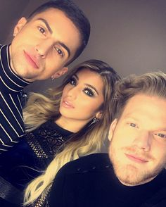 Mitch, Kirstie and Scott