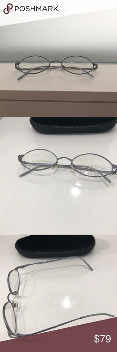 8c0bdc7c46f8 Emporio Armani Prescription Glasses This is a pair of Emporio Armani  prescription glasses. Silver frames