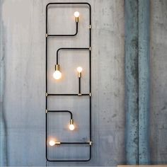 Get Style Black Iron Pipe Wall LampToday!Features : Item Type: Pendant Lights Number of light sources: 5 Voltage: Certification: FCC,RoHS,CCC Power Source: AC Style: Vintage Base Type: