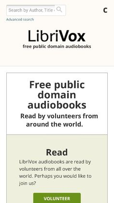 Librivox FREE AUDIO BOOKS!!! Need I say more.  Nothing main steam but has almost all the classic novels you could want.  Used this before I broke down and paid for audible.  There a literally 1000s of titles to choose from its like Netflix instant, they might not have what you want but they'll have something you can stand only this is FREE!  Also try audiobooksforfree.com