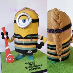 Minions, Cake Minion, Cakes And More, Crafty, Instagram Posts, Holidays, Sports, Hs Sports, Holidays Events