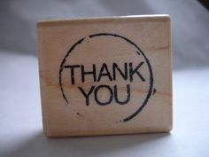 """""""Thank You"""" Stamp ($9)"""