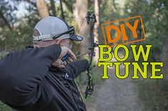 """One of the most often asked questions I hear in the shop is """"Can you tune my bow?"""" Short answer – yes. Long answer – let me show you how to tune your bow yourself at home or at the range. It seems that more and more each year we get a lot of questions …#north40life #archery #bowtuning"""