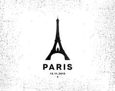 Dribbble - Paris by Piotr Gorczyca Identity Design, Corporate Identity, Negative Space Logos, Paris Logo, Graphic Design Inspiration, Style Inspiration, Paris Design, Logo Sign, Great Logos