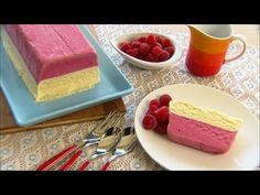 Fast Ed: Raspberry and white chocolate semifreddo
