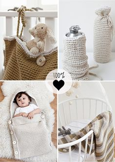 natural style baby/kids accessories by the style files, via Flickr
