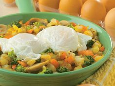 Garden Vegetable Hash - A colorful addition to your Easter brunch!