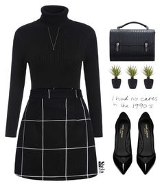 A pretty all-black outfit for almost any occassion. Fashion Looks, Work Fashion, Mode Outfits, Fashion Outfits, Womens Fashion, Classy Outfits, Casual Outfits, Traje Casual, Outfit Chic