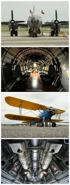 See and ride the only airworthy Boeing Superfortress. The historic World War II bomber is in Birmingham this week for tours and flights. Magic City, Helicopters, Jets, World War Ii, Birmingham, Airplanes, Tours, World War Two, Planes