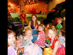 Our Ariel at Premier Princess Parties sings to Ariel Princess Parties over the years!  www.PremierPrincessParties.com