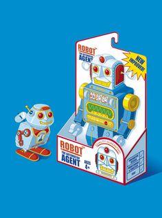 Robots, Beasts, Goddesses & Cool Vehicles by Rod Hunt, via Behance Robot Art, Robots, Domo Arigato, Besta, Vintage Photos, Art Projects, Digital Art, Superhero, Retro