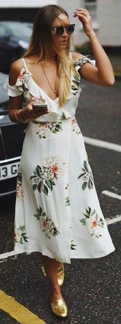 vestido florido - floral dress - vestido verão