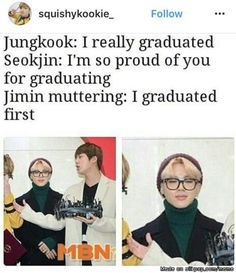 Lol jimin was born in busan first too jungkook just can't stop copying him ;)