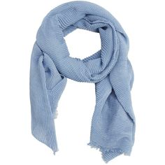 Striped Textured Scarf ($22) ❤ liked on Polyvore featuring accessories, scarves, striped scarves and striped shawl
