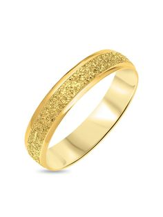 Gold Diamond Cut Sparkle D Shape Wedding Band Gold Band Ring, Gold Bands, Diamond Rings, Band Rings, Diamond Cuts, Types Of Rings, Rose Gold Engagement Ring, Fashion Jewellery, Yellow Gold Rings