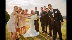 Wedding party pose!