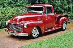 Fully restored frame off 1953 GMC Pick Up Truck up graded V 8 p s p b must drive Chevy Pickup Trucks, Chevy Pickups, Gmc Trucks, Cool Trucks, Antique Trucks, Vintage Trucks, Antique Cars, Gmc Vehicles, Truck Storage