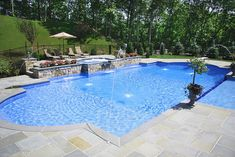 Having a pool sounds awesome especially if you are working with the best backyard pool landscaping ideas there is. How you design a proper backyard with a pool matters. Backyard Pool Designs, Swimming Pools Backyard, Backyard Pergola, Swimming Pool Designs, Pergola Ideas, Lap Pools, Indoor Pools, Backyard With Pool, Gunite Swimming Pool