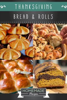 16 Homemade Thanksgiving Bread Recipes | http://homemaderecipes.com/homemade-thanksgiving-bread-recipes/