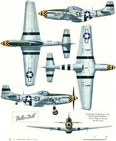 P51D-NA-15 Mustang