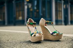 chaussures, sandales, talons