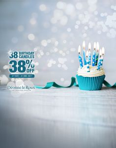 Happy birthday to us! 🎂🍾 And our gift to you is 38% OFF all non-branded stock until end of December. Ts & Cs. While stocks last. Don't doodle, get to one of our stores today! Kolonnade Shopping Centre Woodlands Boulevard