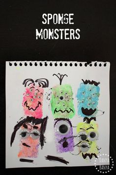 Sponge Monsters - fu