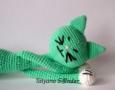 cat, hand made, crochet toy, 47cm by TatyanaSander on Etsy https://www.etsy.com/listing/449491978/cat-hand-made-crochet-toy-47cm