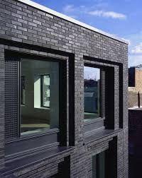 Resultado de imagen de ribbed brickwork into windows