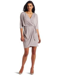 Suzi Chin Women's Faux Wrap Dress Review