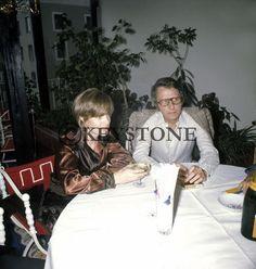 Romy Schneider et Harry Meyen à Munich, le 19 mai 1971.