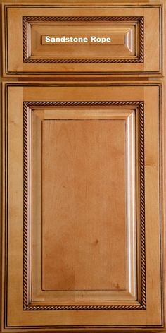 Kitchen Cabinets Doors woodmont doors rope moulding finished wood cabinet doors - glazed