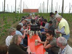 Tour de Bier 2009, Mainburg, Bier in Bayern, Bier vor Ort, Bierreisen, Craft Beer, Brauerei