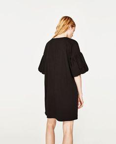 Image 6 of PUFF SLEEVE DRESS from Zara
