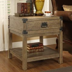 Found it at Wayfair - Trunk End Table