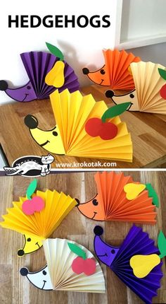 Basteln mit Kindern im Herbst - Helloween Igel A Quick Look at Depression and Teen Suicide An alarmi Fall Crafts For Kids, Preschool Crafts, Diy Crafts For Kids, Easy Crafts, Craft Ideas, Kids Diy, Diy Ideas, Autumn Activities, Craft Activities