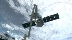 La Estación Espacial Internacional acoge a seis naves al mismo tiempo