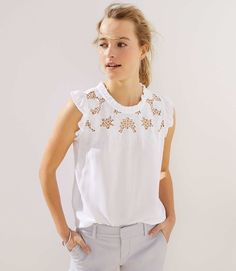 9489d455761d2f Get the perfectly-proportioned look you want with LOFT petite tops. Shop  feminine petite blouses, shells, super soft petite t-shirts & more!