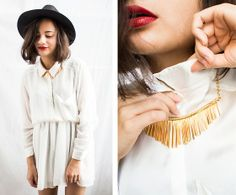 White and gold lookbook.nu
