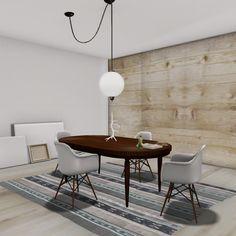 hanging light – blah to wah Lights Over Dining Table, Dining Table Lighting, Dining Room Table, Swag Pendant Light, Swag Light, Pendant Lighting, Modern Interior Design, Interior Design Inspiration, Ikea Lamp