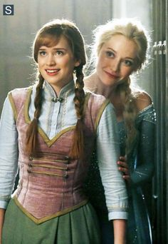 Once Upon a Time - Episode 4.01 - A Tale Of Two Sisters - Anna and Elsa